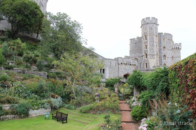 Inglaterra - Londres - Castelo de Windsor - Jardins da Rainha