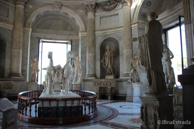 Museus do Vaticano - Museu Pio Clementino - Sala della Biga