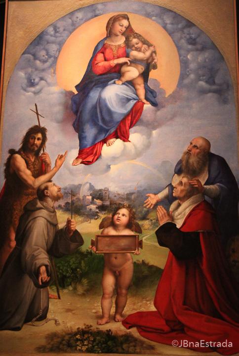 Museus do Vaticano - Pinacoteca - Rafael - Madonna de Foligno