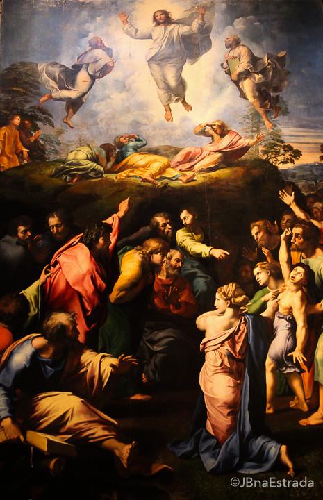 Museus do Vaticano - Pinacoteca - Rafael - Transfigurazione