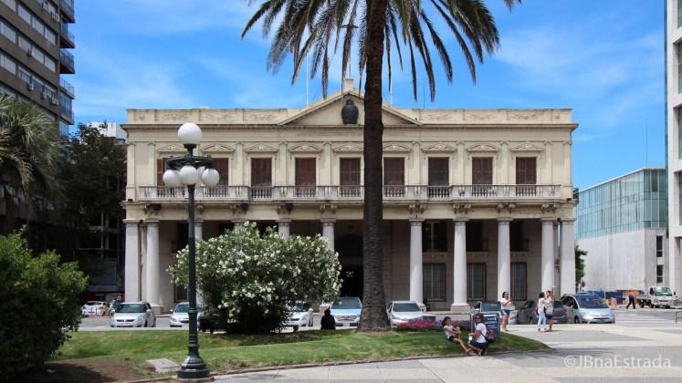 Uruguai - Montevideu - Plaza Independencia - Palacio Estevez - Museo Casa de Gobierno