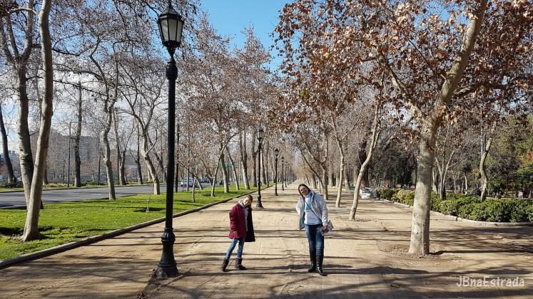 Chile - Santiago - Parque Florestal