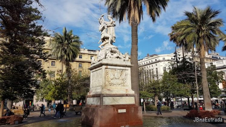 Chile - Santiago - Plaza de Armas