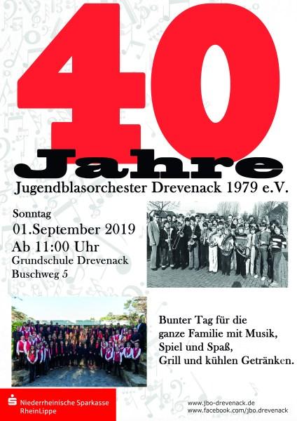 40 Jahre JBO - Plakat