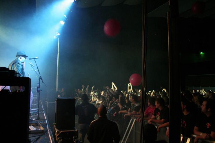J.B.O. am 27.11.2010 in der Illipse in Illingen. Foto: Andrea Jaeckel-Dobschat.
