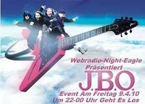 J.B.O. Special im Webradio-Night-Eagle