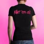 Killer-Shirt - Girlie - Rückseite