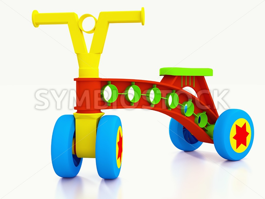 Four wheeled kids bike. - Jan Brons Stock Images