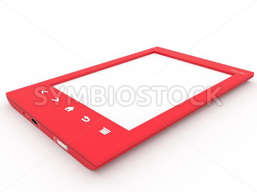 Red Ebook reader
