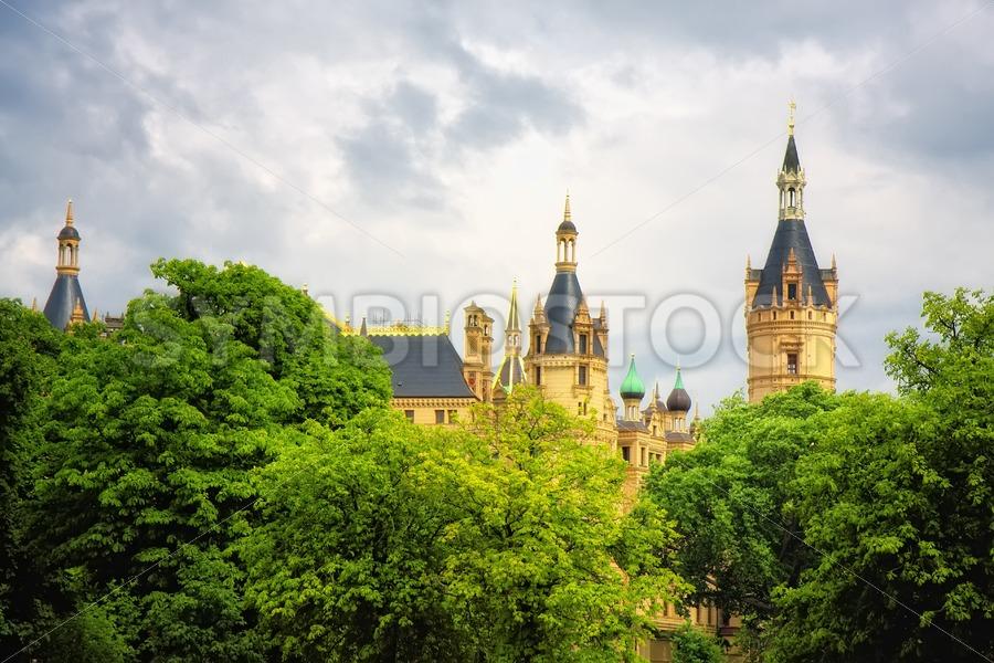 Schwerin castle - Jan Brons Stock Images