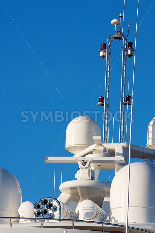 Yacht communication and safety equipment