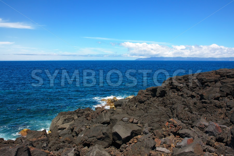 Lava Beach - Jan Brons Stock Images