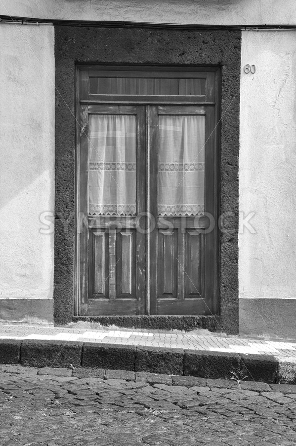 Old Wooden House Door - Jan Brons Stock Images
