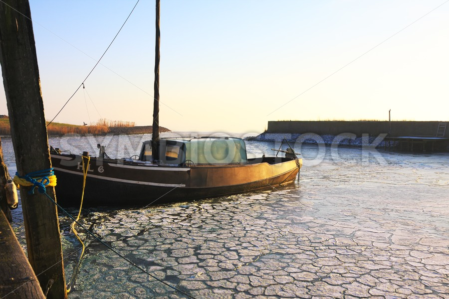 Fishing Ship in Harbour