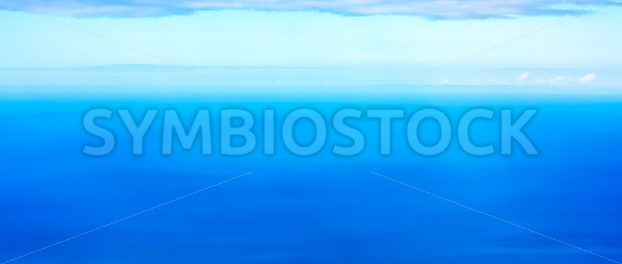 Tropical Ocean panorama - Jan Brons Stock Images