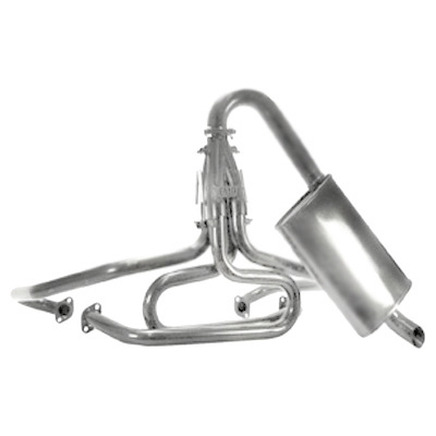 vw 1 1 2 inch off road competition exhaust turbo muffler ceramic