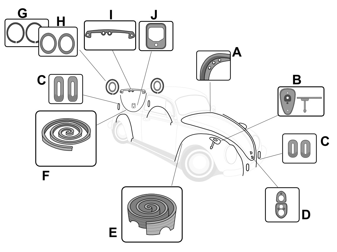 1971 Volkswagen Beetle Engine Wiring