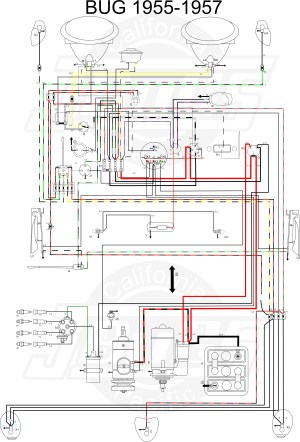 VW Tech Article 195557 Wiring Diagram
