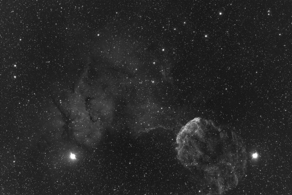 Jim Burnell's CCD Images - IC443