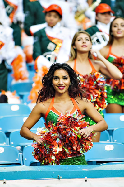 Hurricanettes Cheerleader
