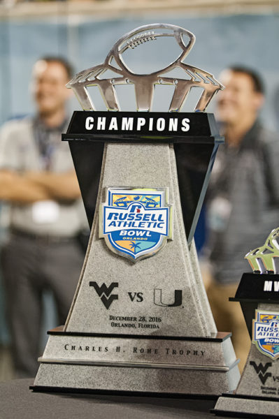 The Russell Athletic Bowl Championship Trophy