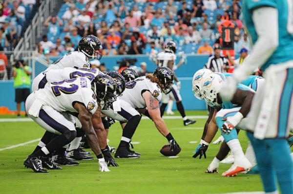 Miami Dolphins vs Baltimore Ravens