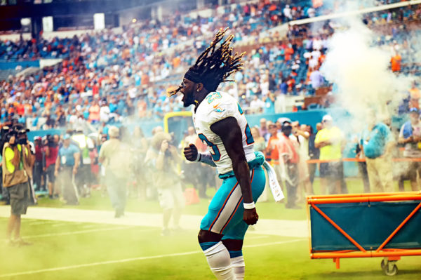 Jay Ajayi is pumped up