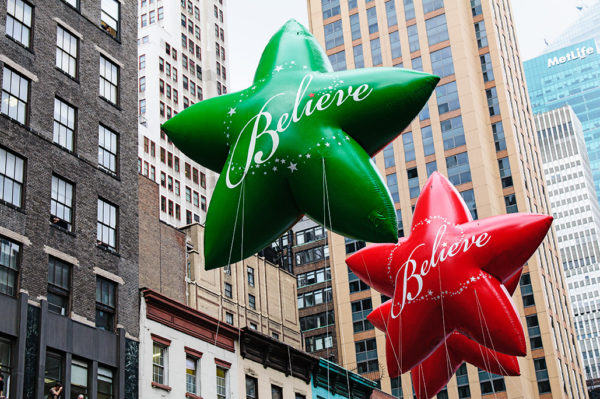 macys thanksgiving day parade believe balloons