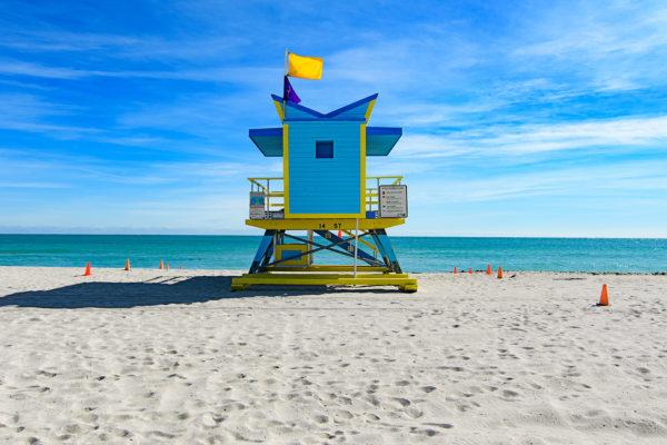 14th street lifeguard station, Miami Beach