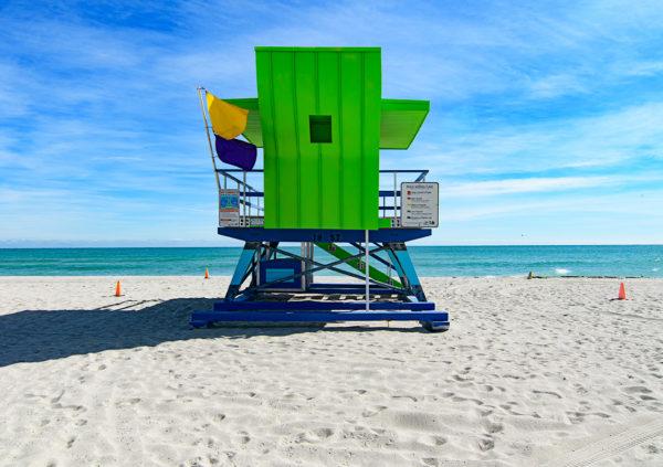 18th street lifeguard station, Miami Beach