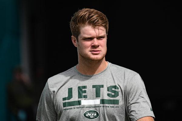 New York Jets quarterback Sam Darnold (14)