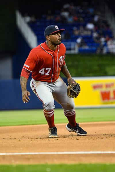 Washington Nationals second baseman Howie Kendrick #47