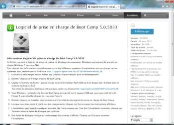 boot camp 5 mac