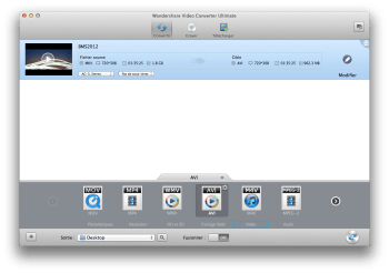 WonderShare Video Converter Ultimate conversion mp4