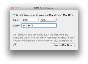 ram disk creator tuto