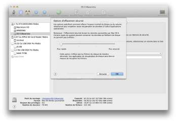 suppression donnees mac