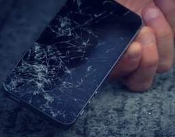 iPhone 5S crash test