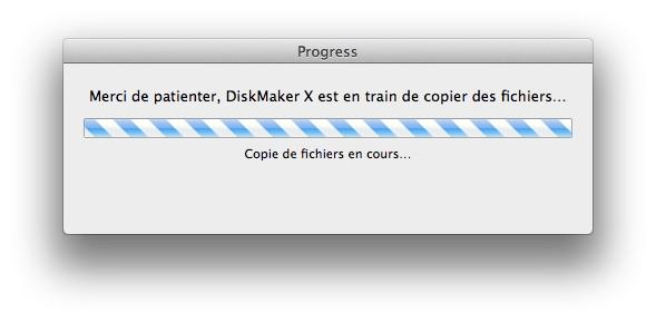 installer Mavericks diskmaker x creation de disque mavericks