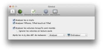 analyse virus iphone ipad