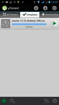 utorrent android partage