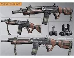 cod Maverick Gun