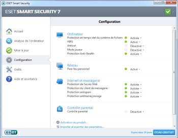 Eset Smart Security 2014 - pare-feu