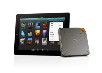lacie fuel ipad
