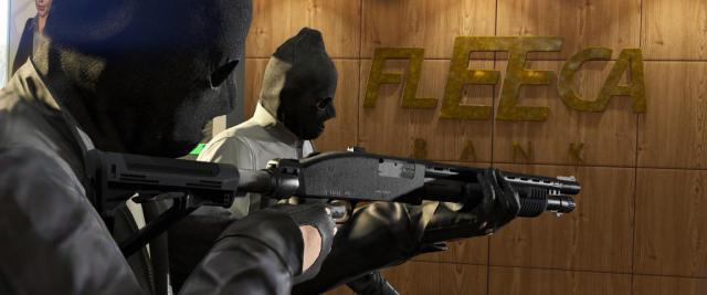 GTA 5 PC braquage