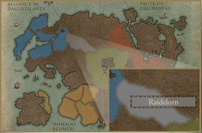 Tamriel : zones jouables