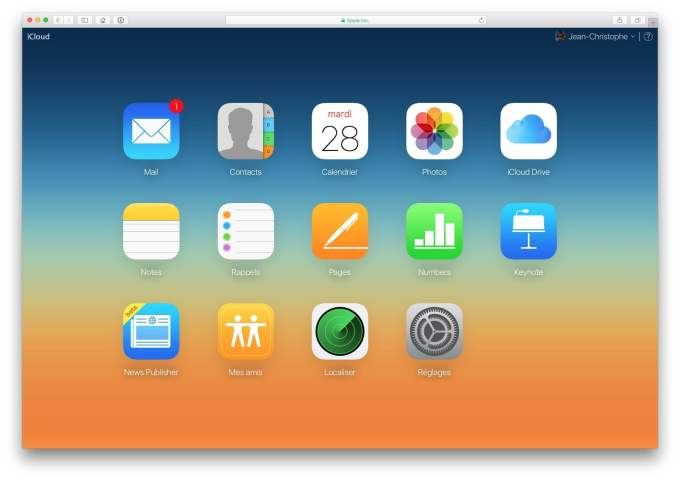 icloud mail connexion mail