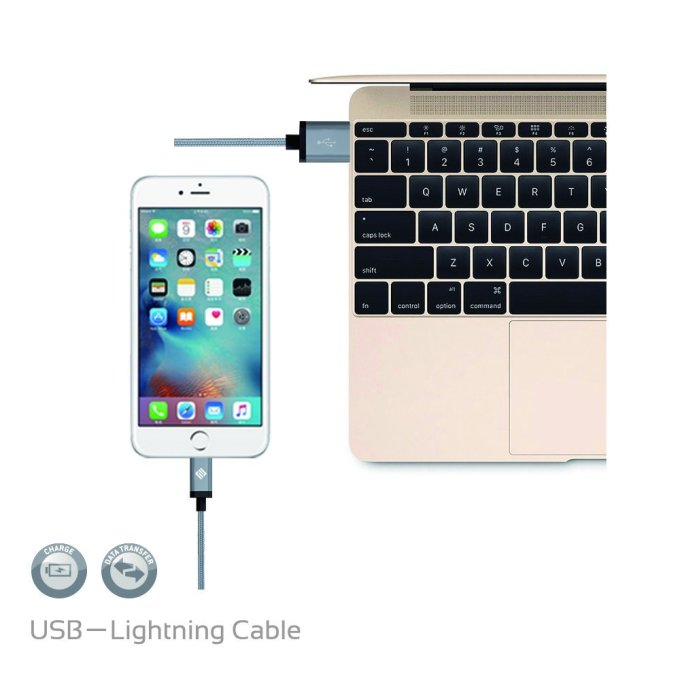 cable lightning ipad recharge et synchronisation sur imac