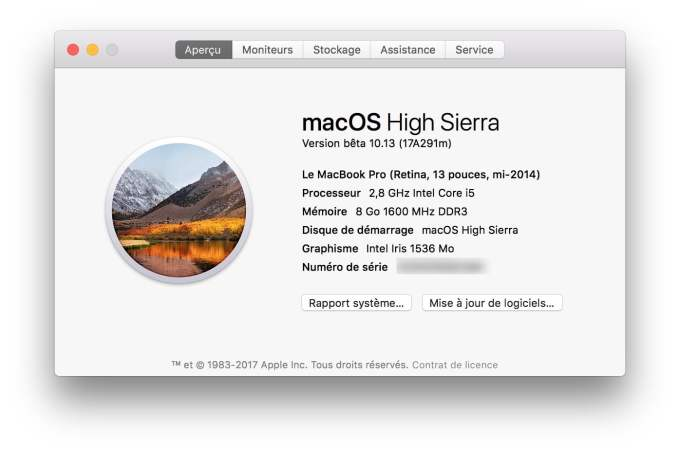 Installer macOS High Sierra tuto