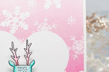 Butterfly Reflections Ink Crate Paper Reindeer – Video