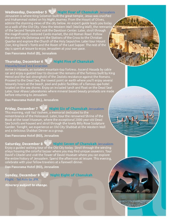 Israel Trip Booklet 2018 FB3